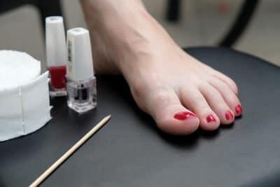 Körperpflege Füße und Nägel