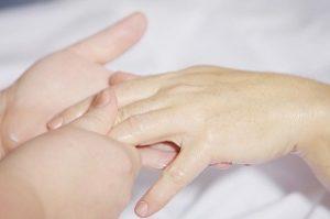 Nagelpflege Massage