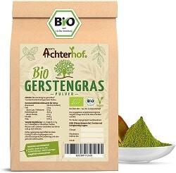 Gerstengras Bio Qualität